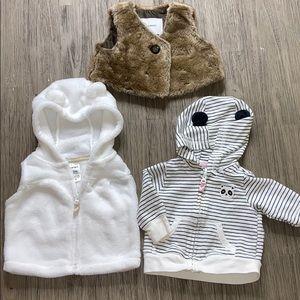 Baby Girl Jacket Bundle
